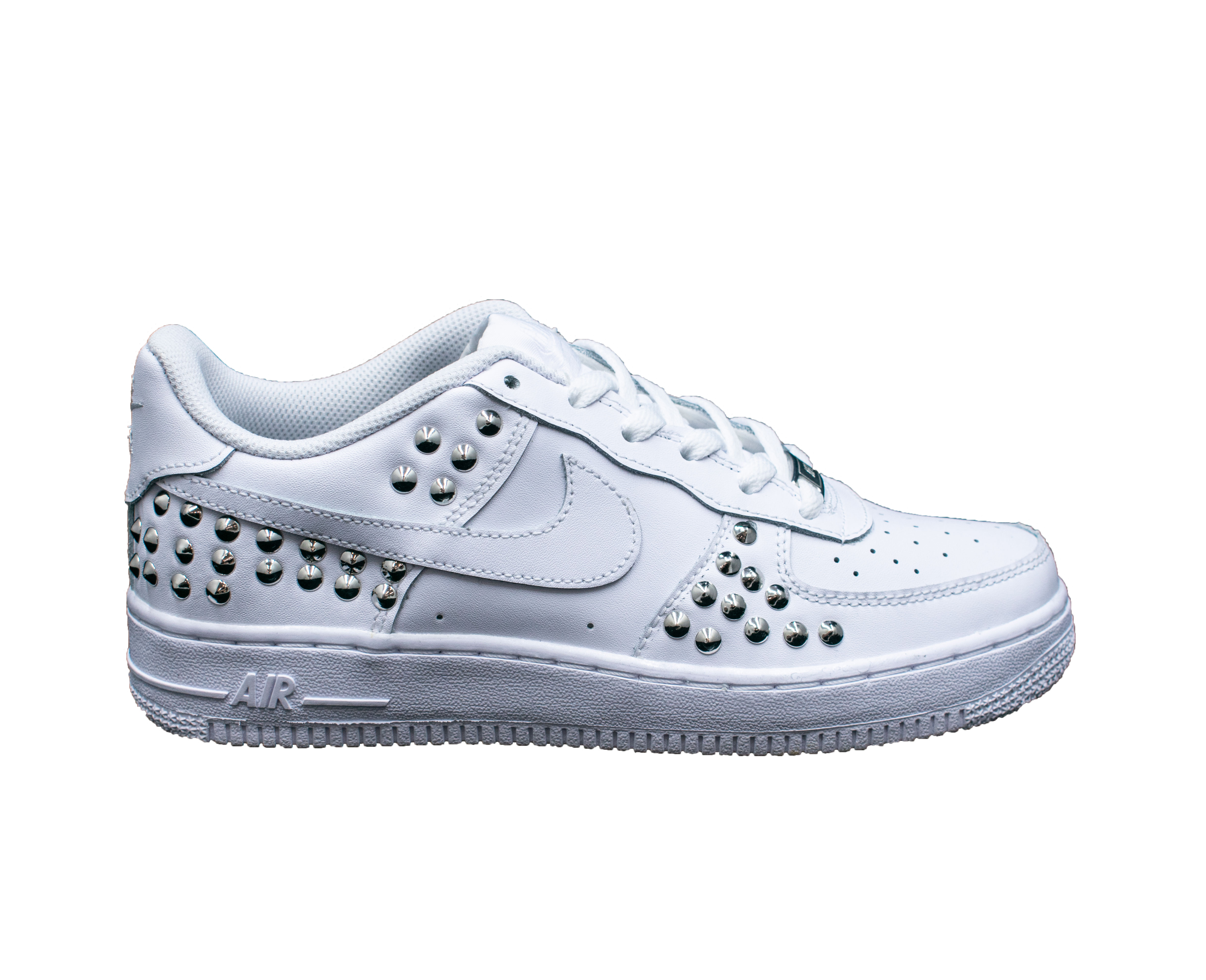 Pierrot Nike air force 1 07 borchie white Donna | Pierrot calzature
