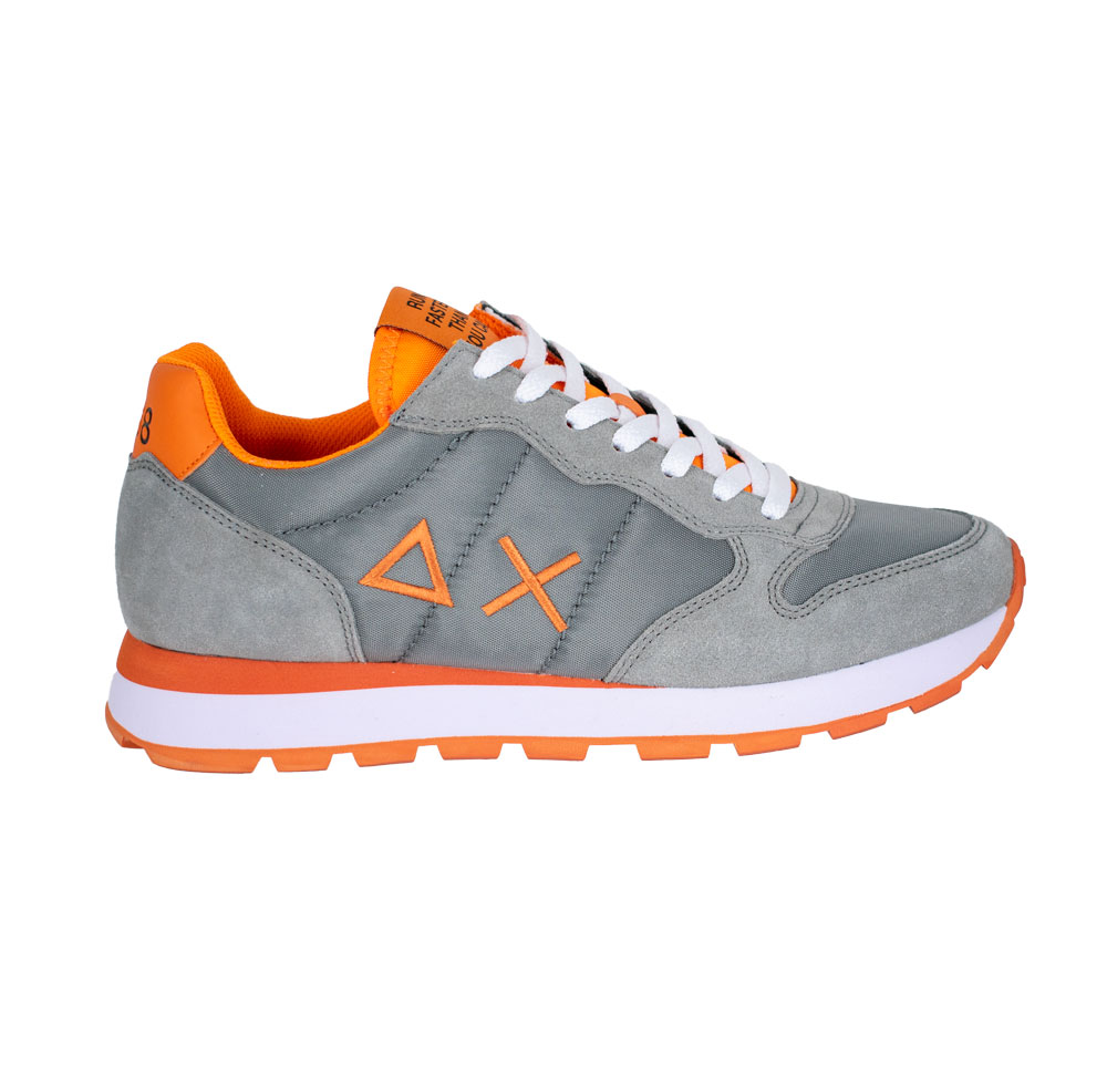 Sun 68 Z30101 3403 grigio arancio Uomo | Pierrot calzature